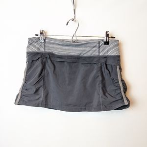 Lululemon Skort zipper pocket active shorts